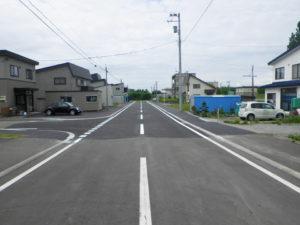 H-26広里公住仲通線道路改良舗装工事