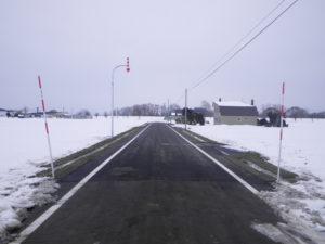 H-28川2線道路改良舗装工事