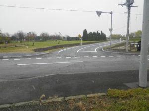 H-28水源線道路改良舗装工事